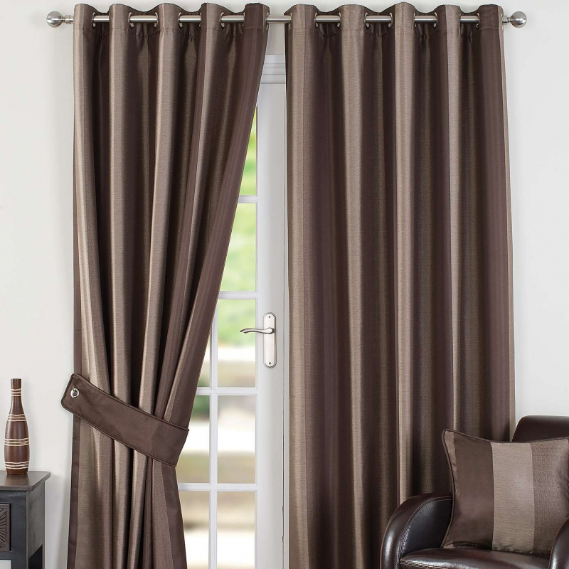 Slx Monaco Chocolate Thermal Curtains