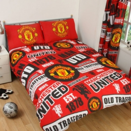 Man Utd Double Quilt Cover