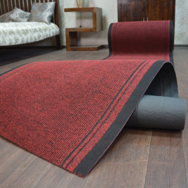 Red Protective Floor Covering