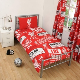 Liverpool FC Single Duvet Set