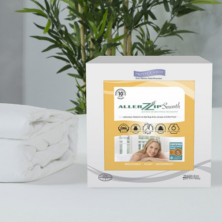 Protect-A-Bed AllerZip® Smooth Mattress Protector