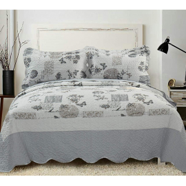 Elainer Country Classic Bedspreads and 2 Pillowsham Sets