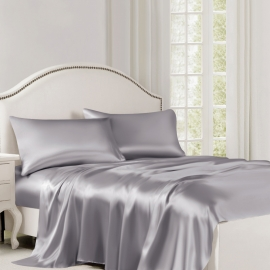 Belledorm Luxury Silk Flat Sheets
