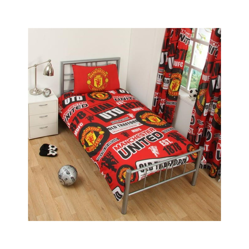 Man Utd Single Quilt Cover