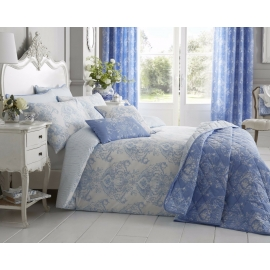 Toile Blue Duvet Set
