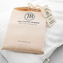 Housewife Pillowcases in Bamboo