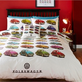 Volkswagen Beetles Quilt Cover