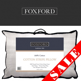 Foxford Cotton Stripe Pillow