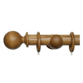 Timber Curtain Poles