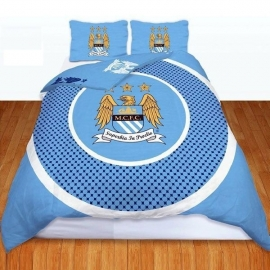 Manchester City Football Club Duvet Cover