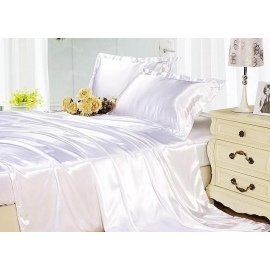 Luxurious Silk Sheets